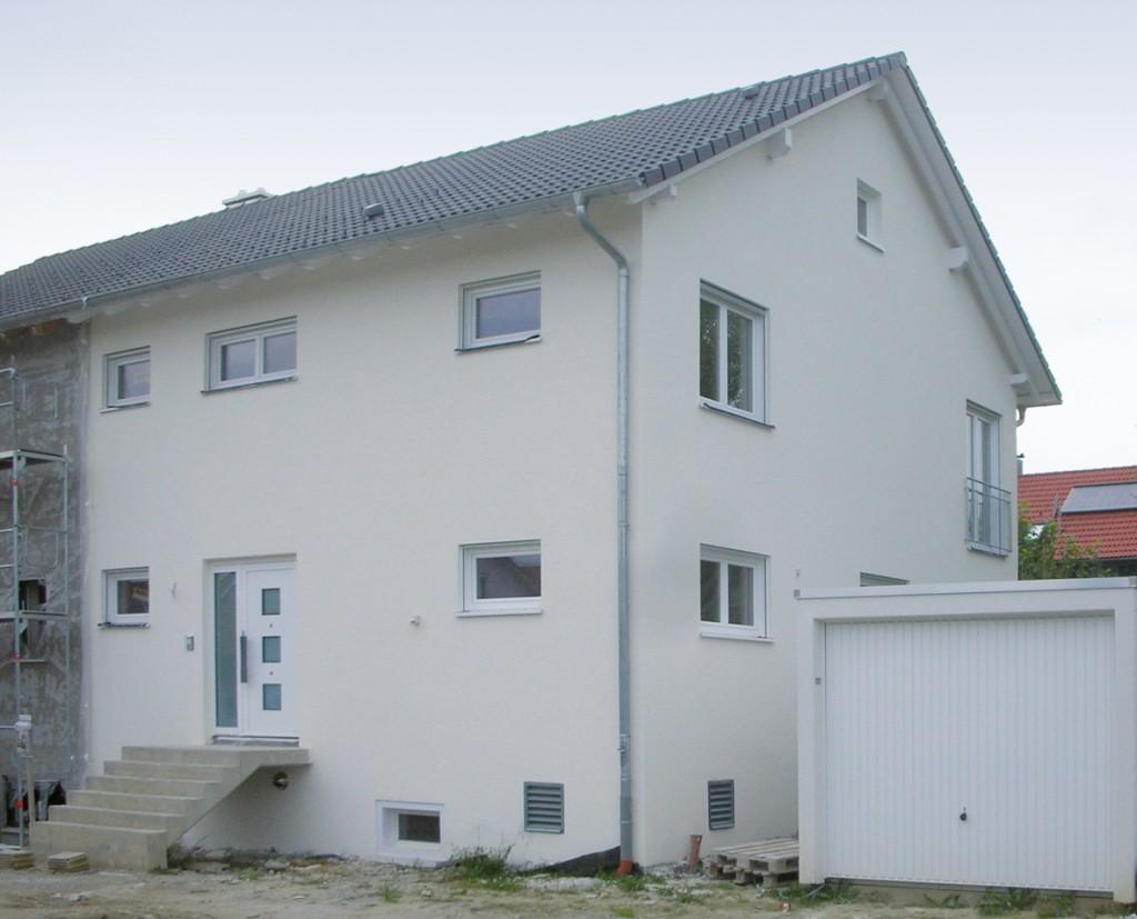 Hauslinie Doppelhaus - OPTAMASSIVHAUS