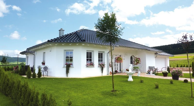 Massivhaus Bungalow