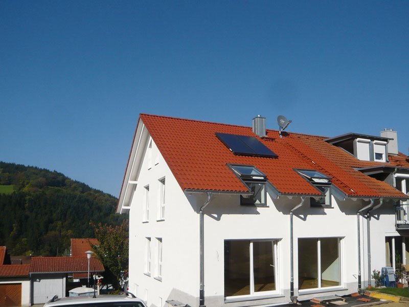 Hauslinie Doppelhaus | OPTA Massivhaus