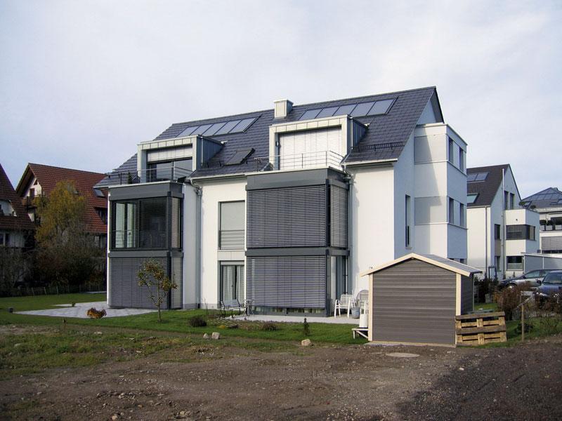 Hauslinie Mehrfamilienhaus