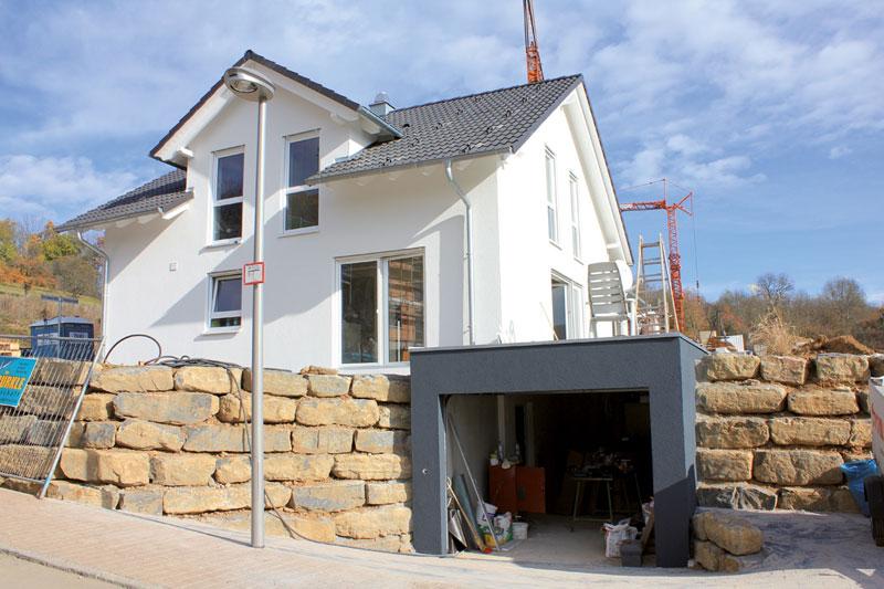 Hauslinie Hanghaus | OPTA Massivhaus