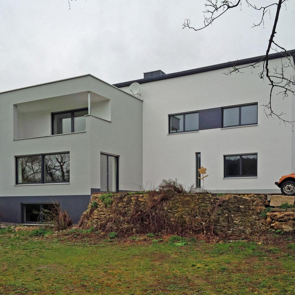 Individuelles Haus Cubus - OPTA Massivhaus
