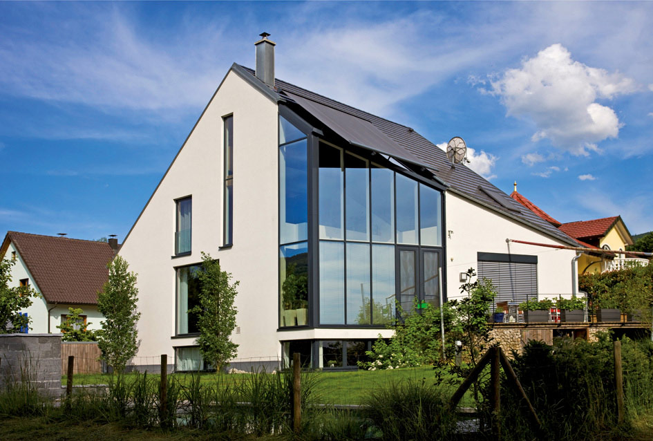 Individuelles Haus Klassik - OPTA Massivhaus