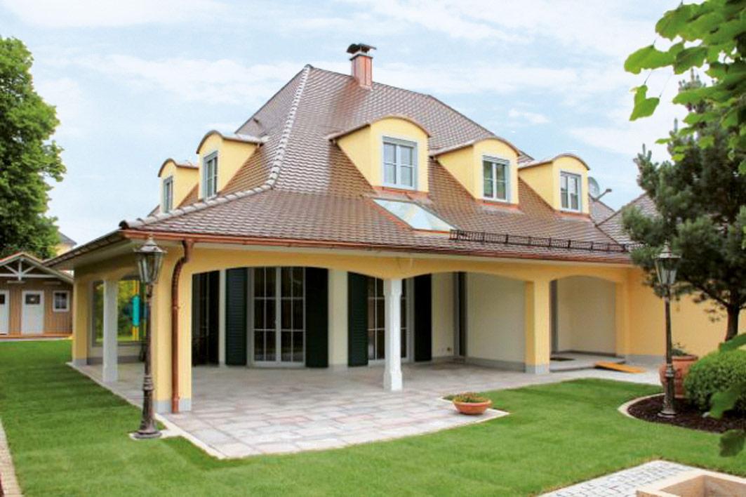 Individuelles Haus Villa - OPTA Massivhaus