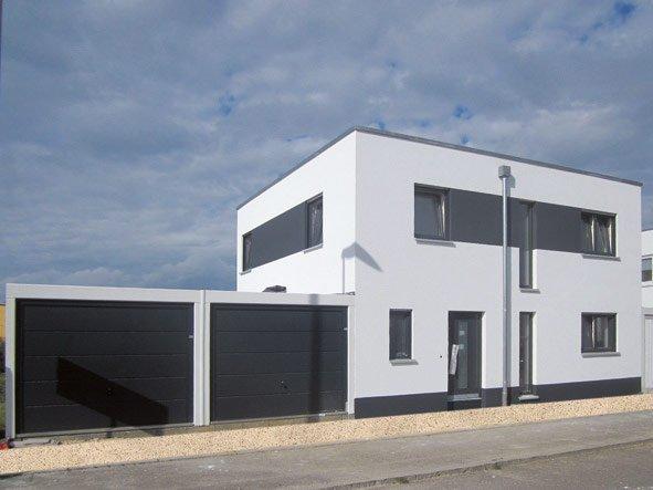 Individuelles Cubushaus - OPTA Massivhaus
