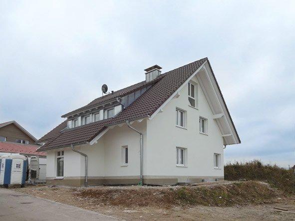 Individuelles Klassikhaus - OPTA Massivhaus