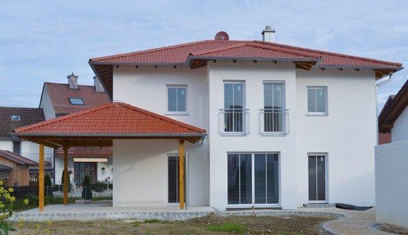 Individuelles Mediterranhaus - OPTA Massivhaus