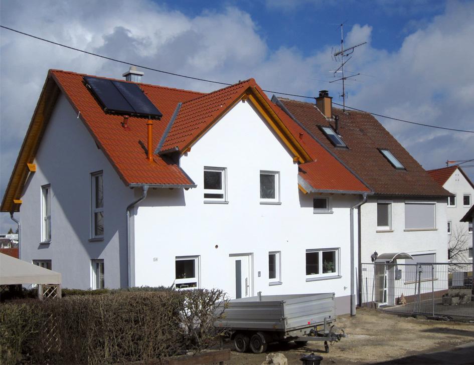 Massivhaus Doppelhaus | OPTA MassivhausMassivhaus Doppelhaus | OPTA Massivhaus