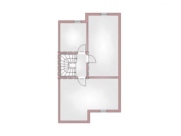 Grundriss Doppelhaus 120 KG