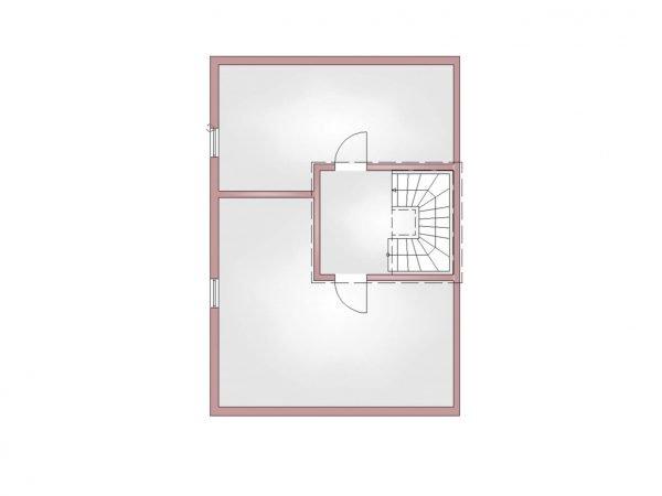 Grundriss Doppelhaus 140 KG