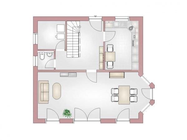 Klassik 120 Erdgeschoss