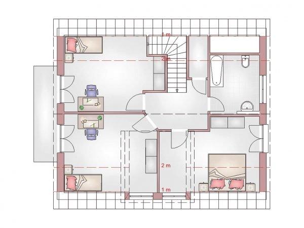Klassik 140 Dachgeschoss