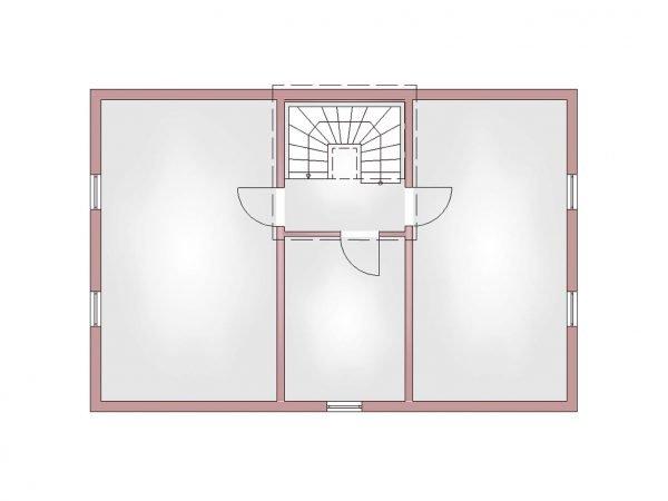 Grundriss Landhaus 120 KG