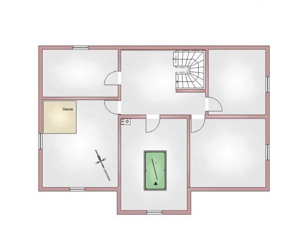 Villa 240 Kellergeschoss