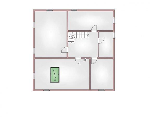 Grundriss Villa 300 Kellergeschoss
