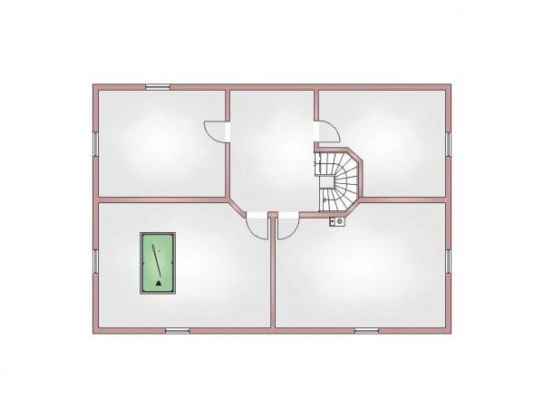 Grundriss Villa 380 Kellergeschoss