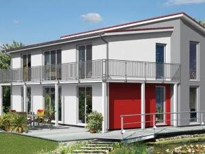 Avantgarde Massivhaus A160 von OPTA MASSIVHAUS