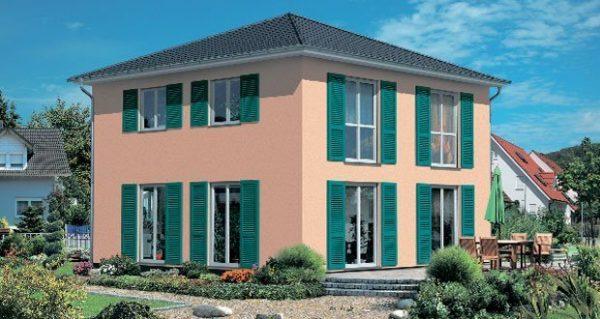 Haus M100   OPTA Massivhaus